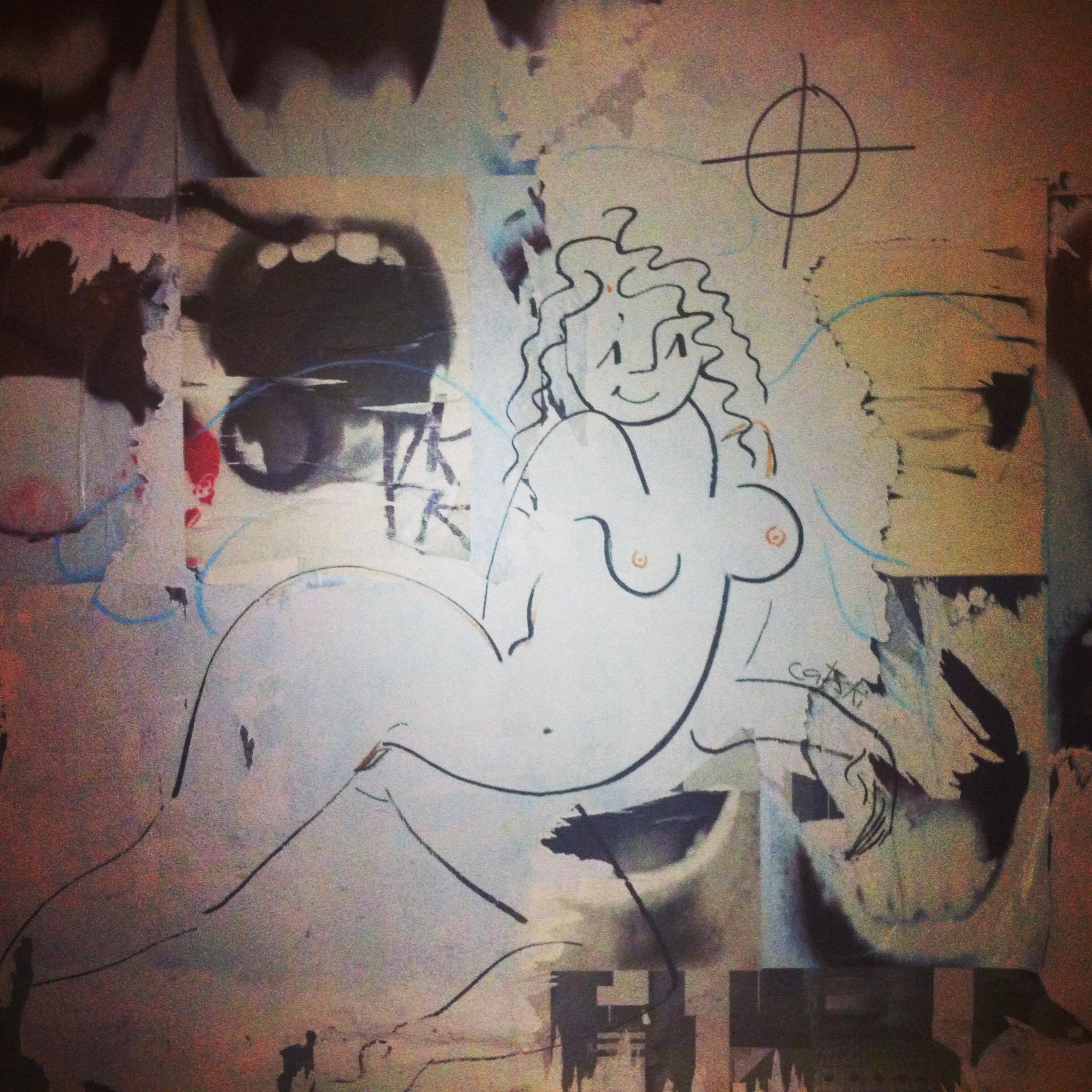 Street art in Montparnesse