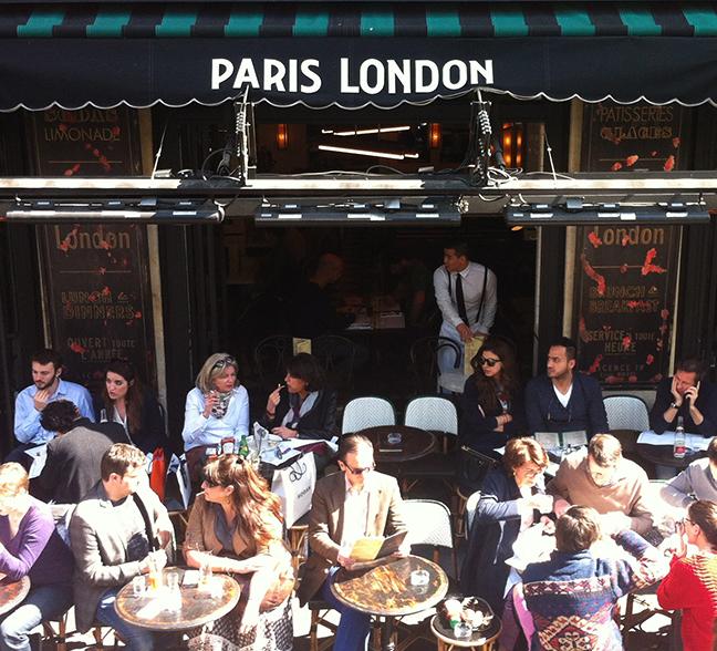 Parisian café culture