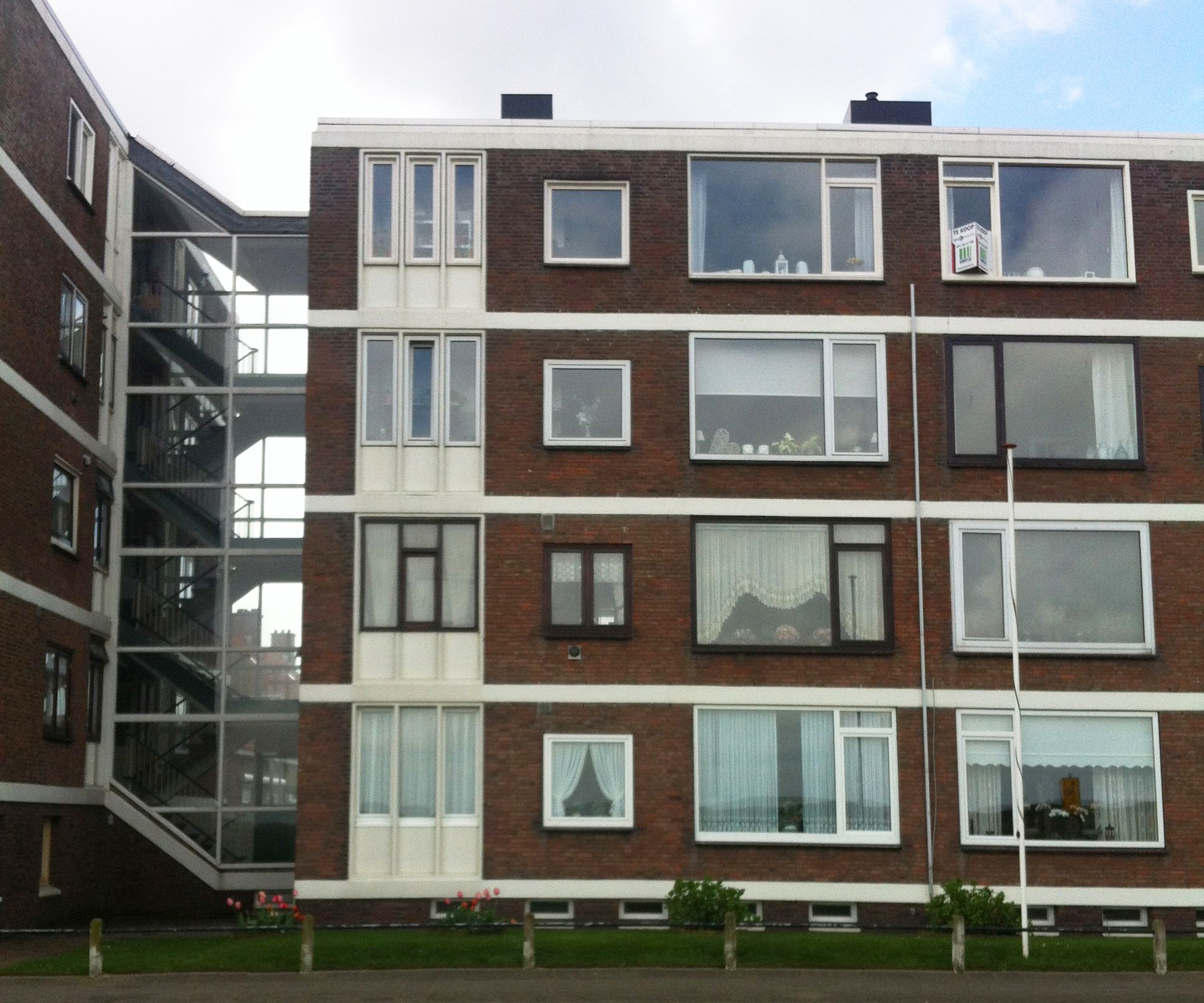 Apartment block in Katwijk, Netherlands