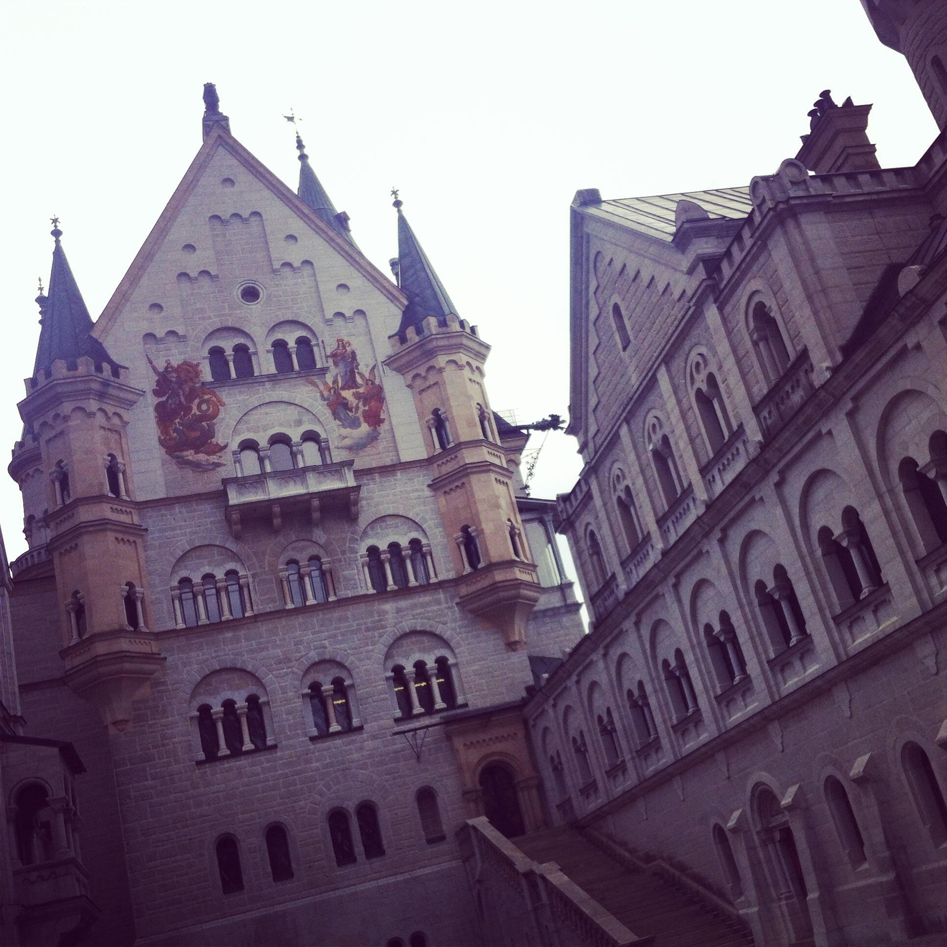 Court of Neuschwanstein Castle