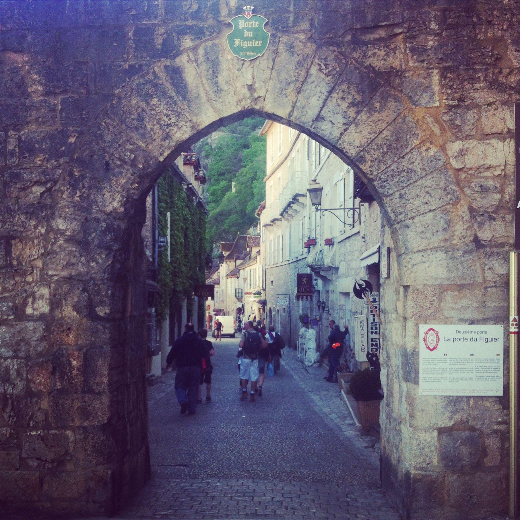 Entrance to Rocamadour