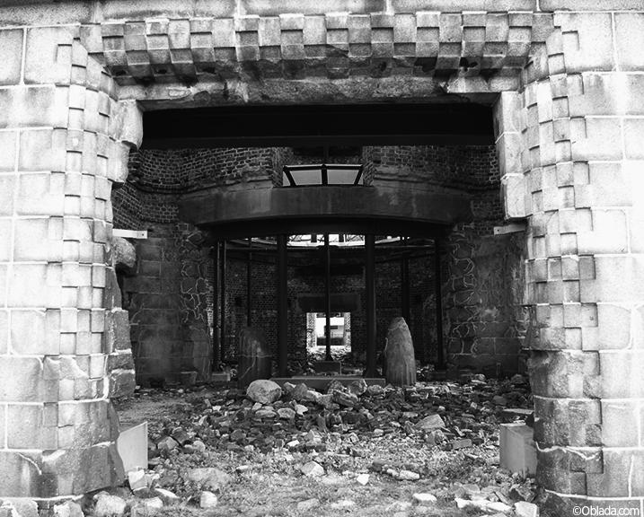 Interior of A-Bomb Dome, Hiroshima (©Deborah Clague)