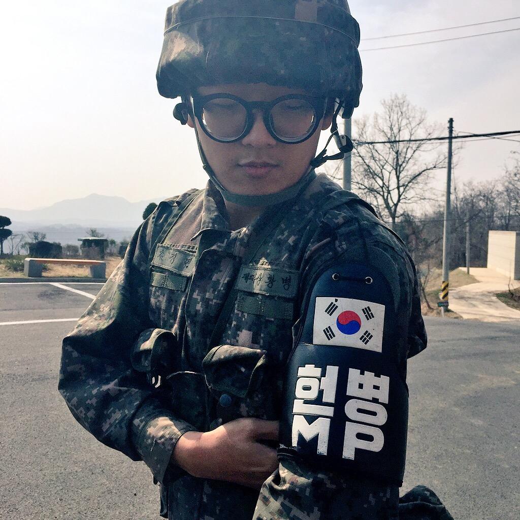South Korean solider (©Deborah Clague/Oblada.com)