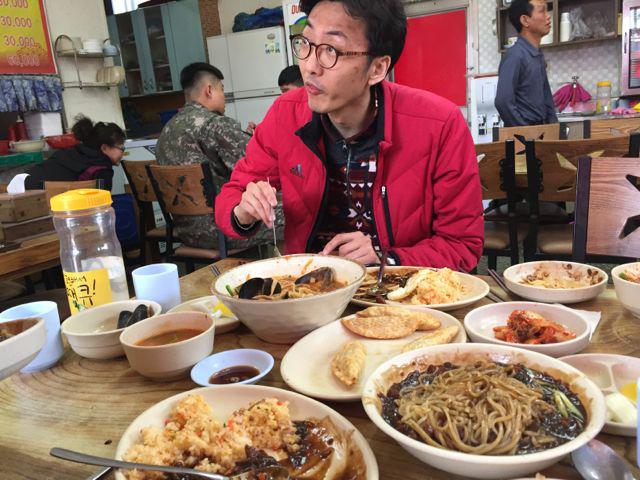 Korean feast on the private DMZ tour I took (©Deborah Clague/Oblada.com)