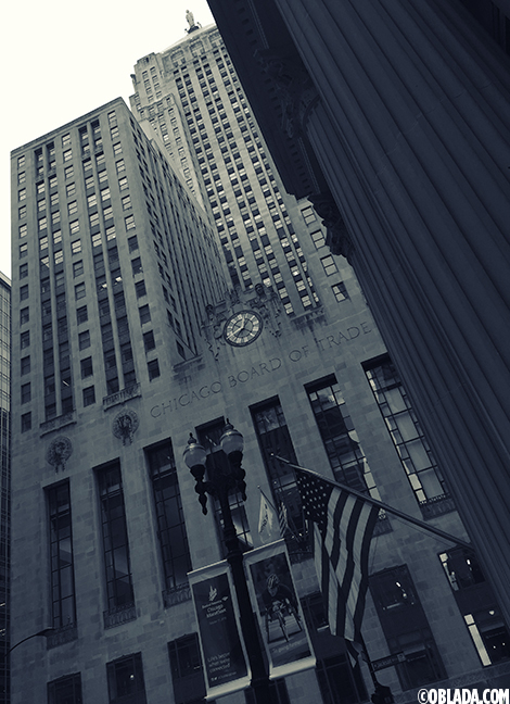 Chicago Board of Trade building (©Deborah Clague/Oblada.com)