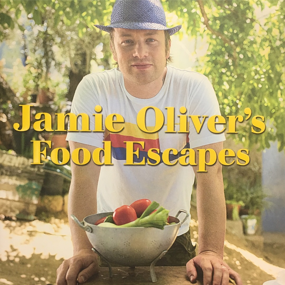 My favourite celebrity chef, Jamie Oliver. His style is healthy, fresh and easy.