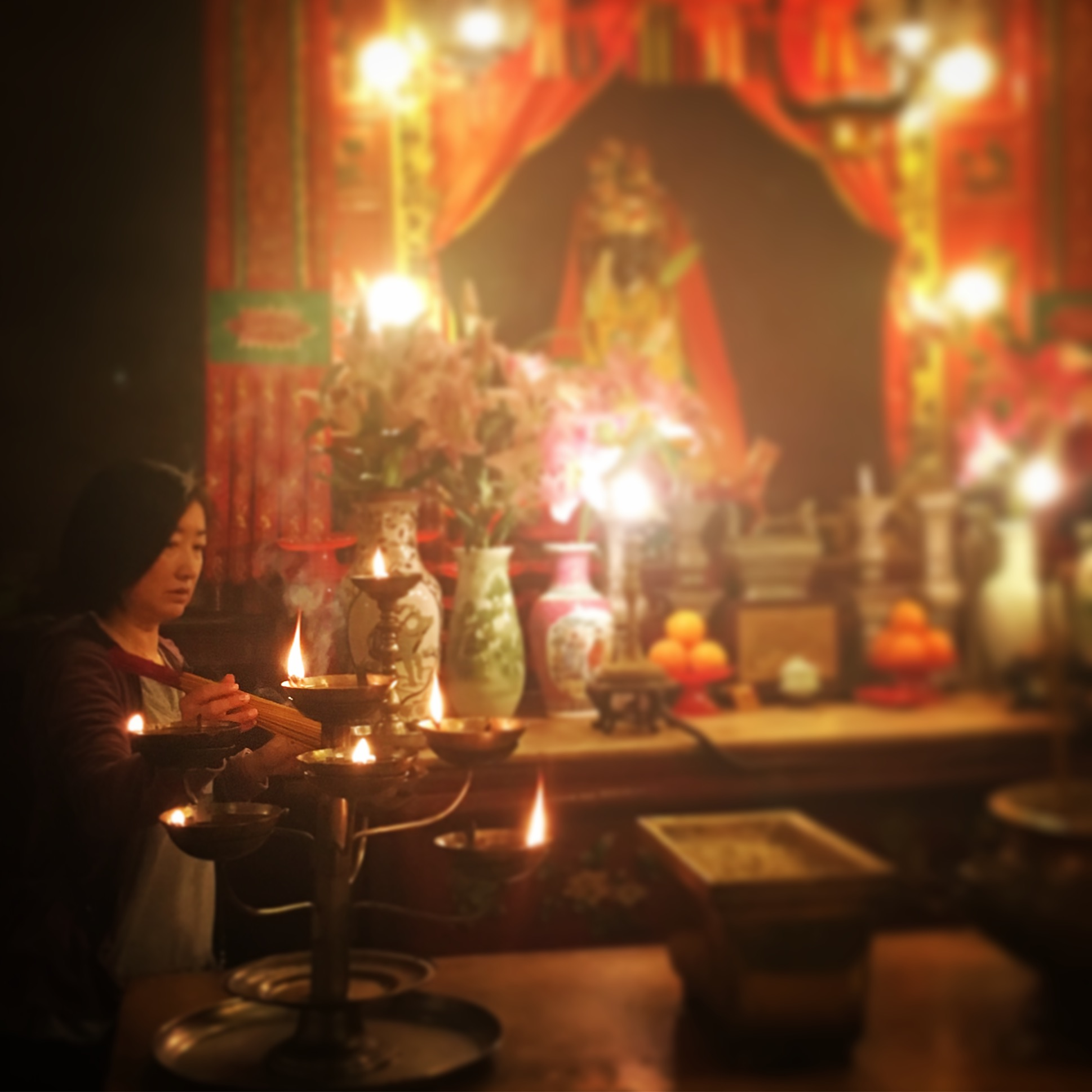 Man Wo Buddhist Temple (©Deborah Clague, 2018)