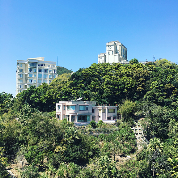 The highest (and priciest) real estate in Hong Kong (©Deborah Clague, 2018).