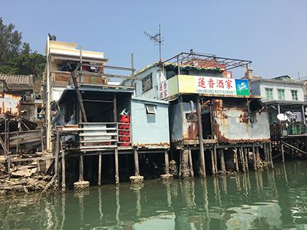 Tai O Fishing Village, China (©Deborah Clague, 2018).