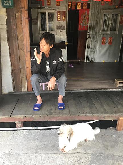 Good boy no.5, Tai O Fishing Village, China (©Deborah Clague, 2018).