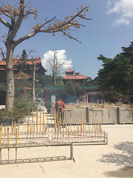 Po Lin Monastery, China (©Deborah Clague, 2018).