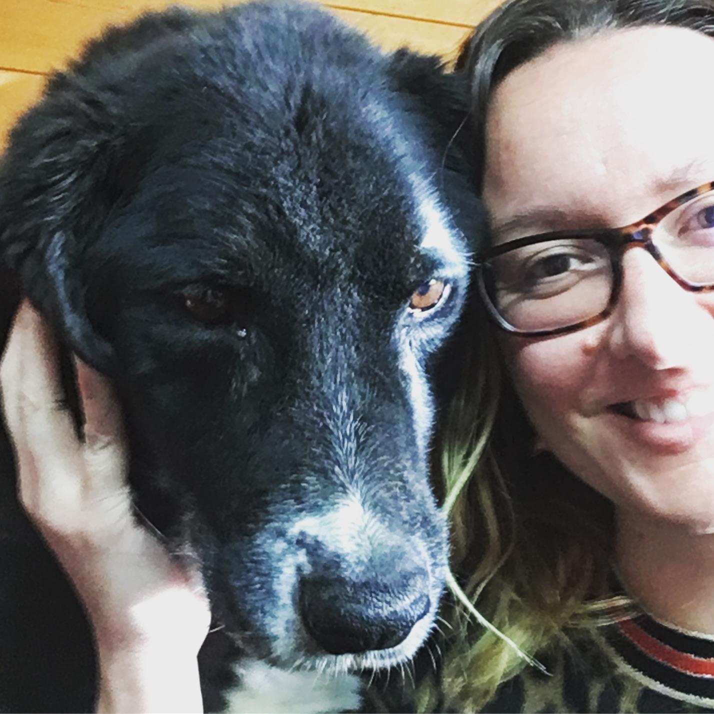 The last photo of Reggie and I, Winnipeg, April 2018.