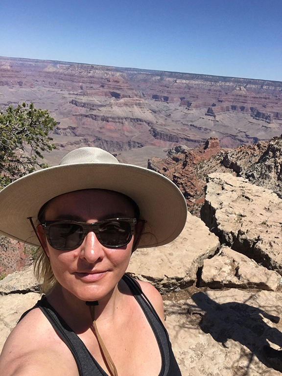 South Rim, Grand Canyon (©Deborah Clague, 2018).