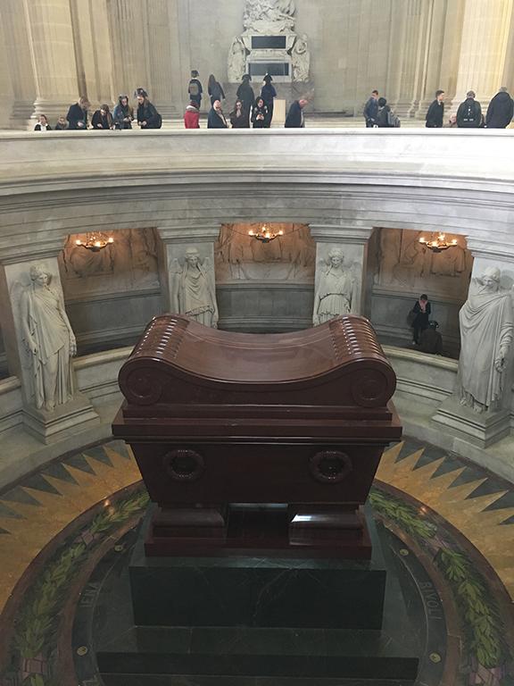 Napoleon's tomb, Les Invalides (©Deborah Clague, 2019).