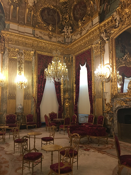 Napoleon III Rooms at The Louvre, Paris (©Deborah Clague, 2019).