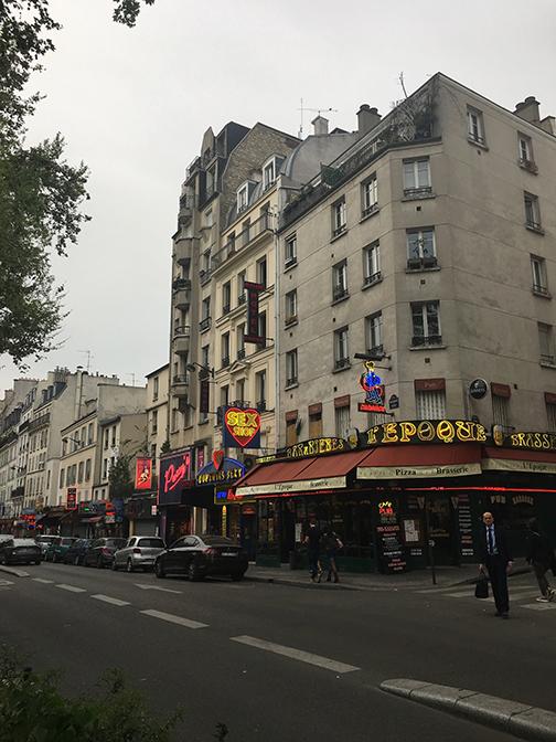Paris' sex district (©Deborah Clague, 2019).