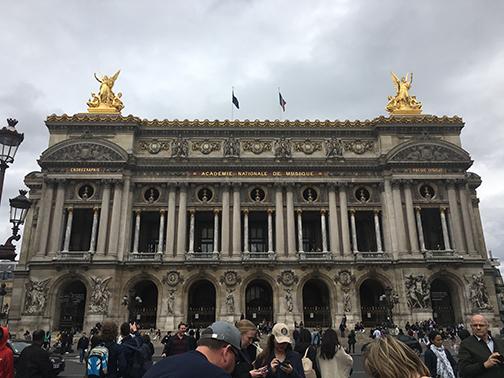 Palais Garnier, Paris (©Deborah Clague, 2019).