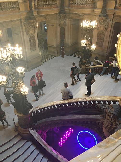 The Grand Staircase, Palais Garnier, Paris (©Deborah Clague, 2019).