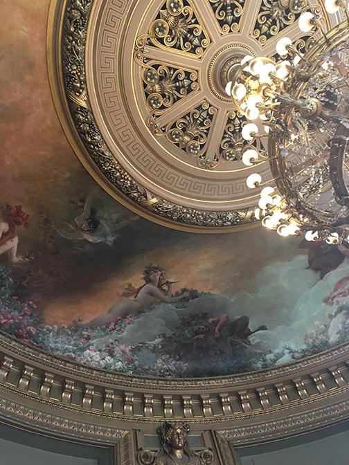 Salon du Glacier, Palais Garnier, Paris (©Deborah Clague, 2019).