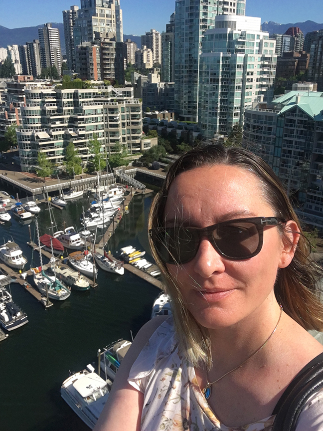 I love this city, Vancouver (©Deborah Clague, 2019).
