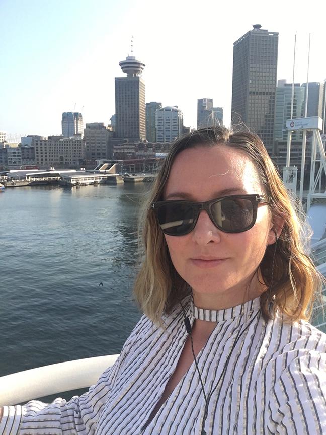 Vancouver skyline (©Deborah Clague, 2019).