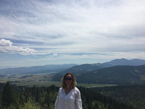 Scenic vista near Helena, Montana (©Deborah Clague, 2019).