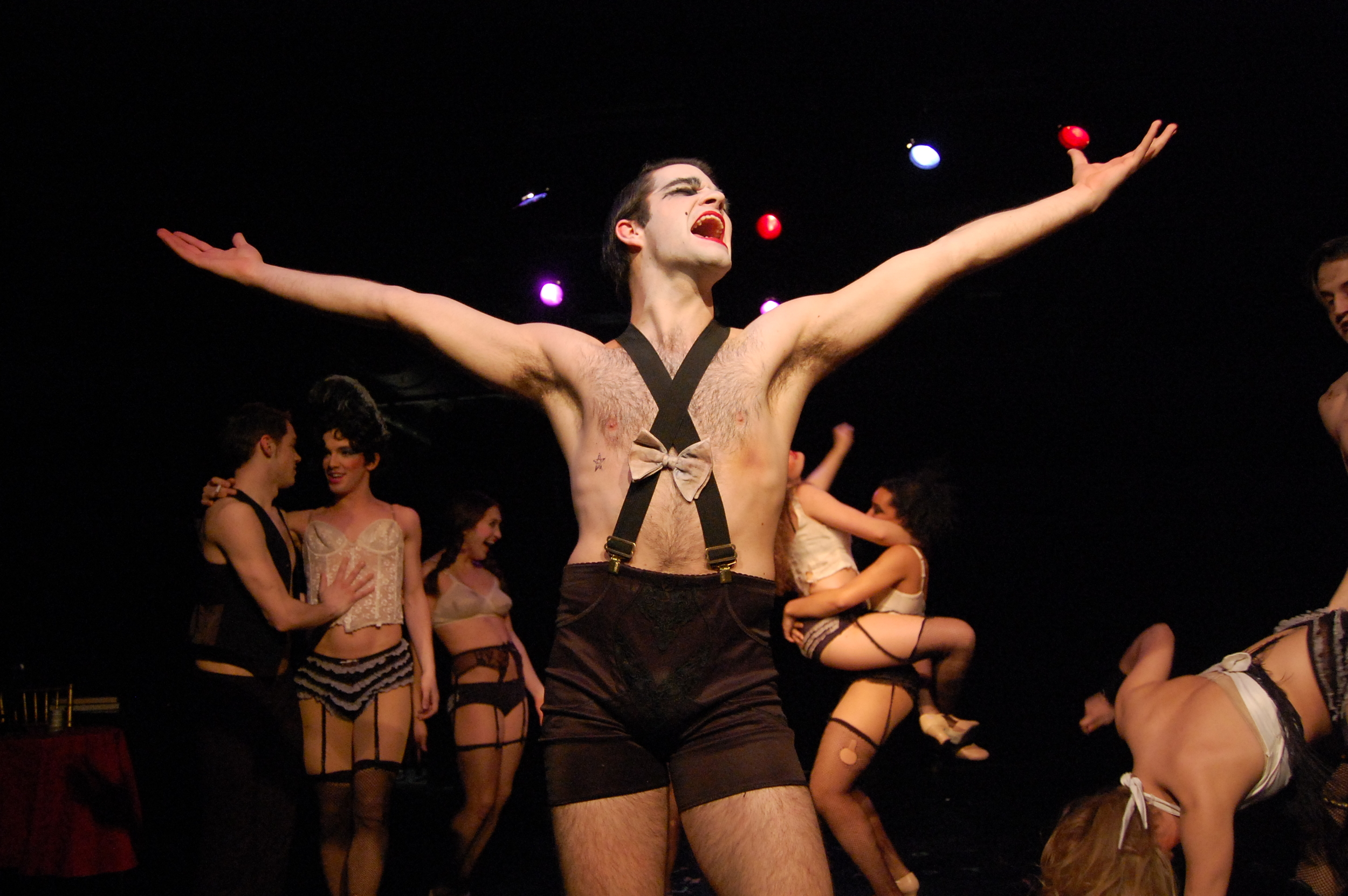 Cabaret. Directed by Daniel George. The Boston Conservatory.
