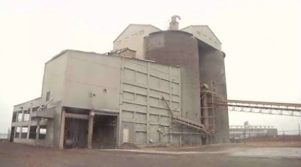 Pier B/LaFarge Cement Plant's current state