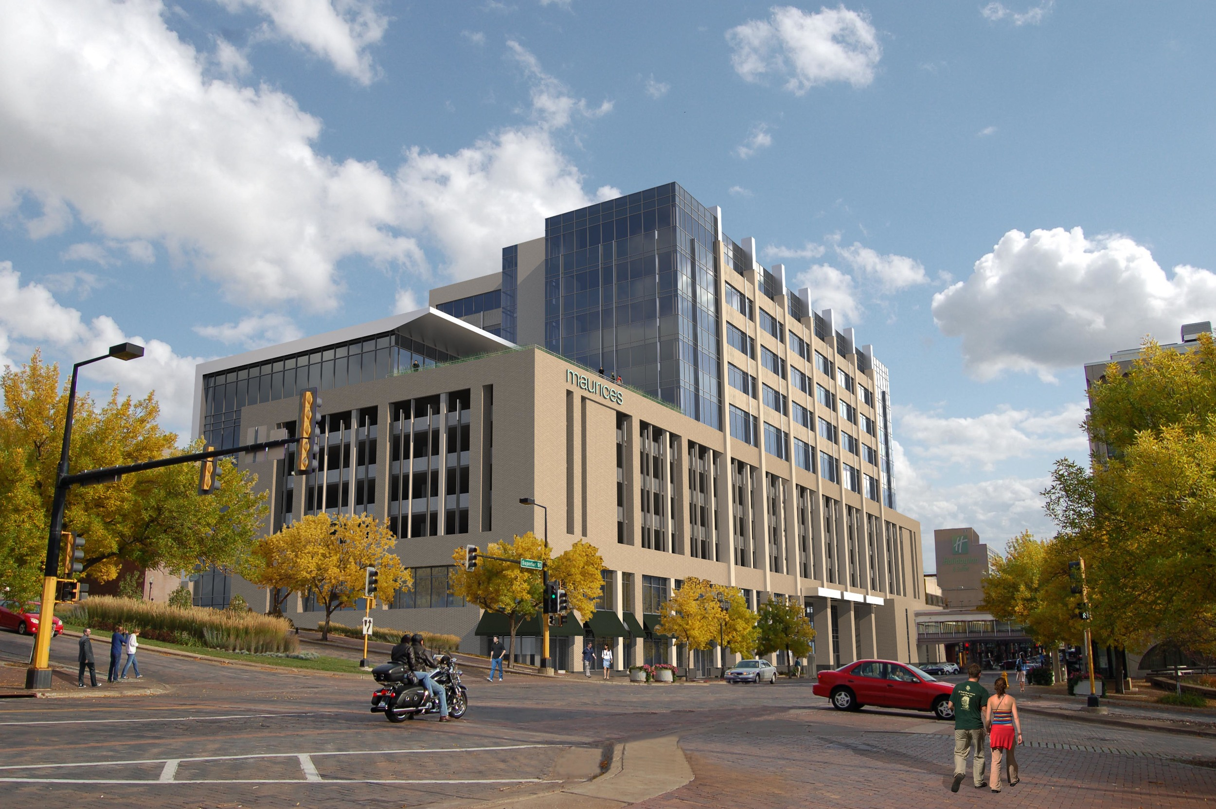 Rendering of what the new maurices Headquarters will look like.  (Image property of maurices)