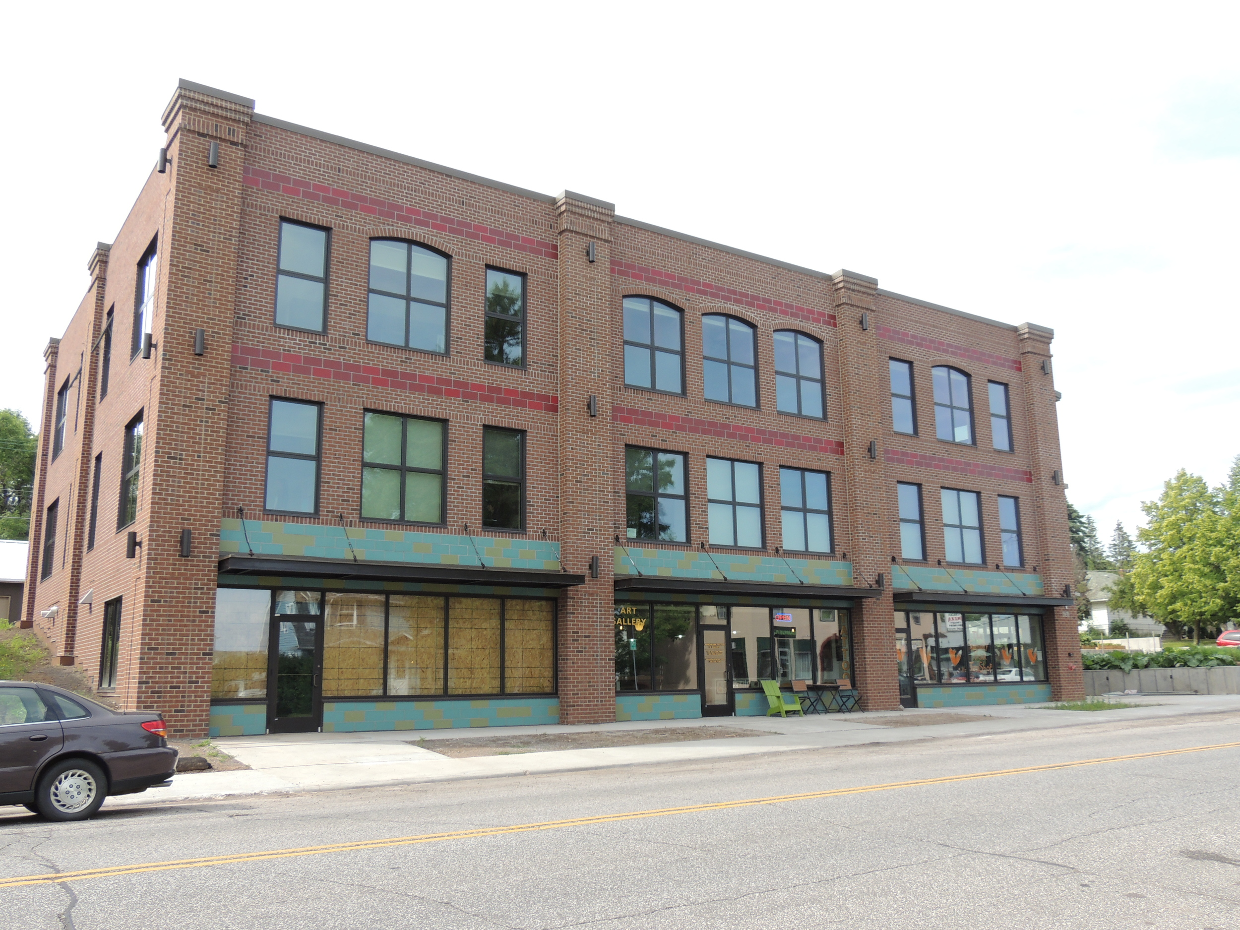 Chester Gardens was recently finished on the corner of 8th Street and North 19th Avenue East
