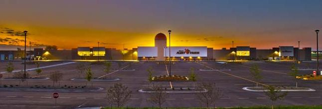 Above: New large scale prototype of Mills Fleet Farm. This location is around 260,000.