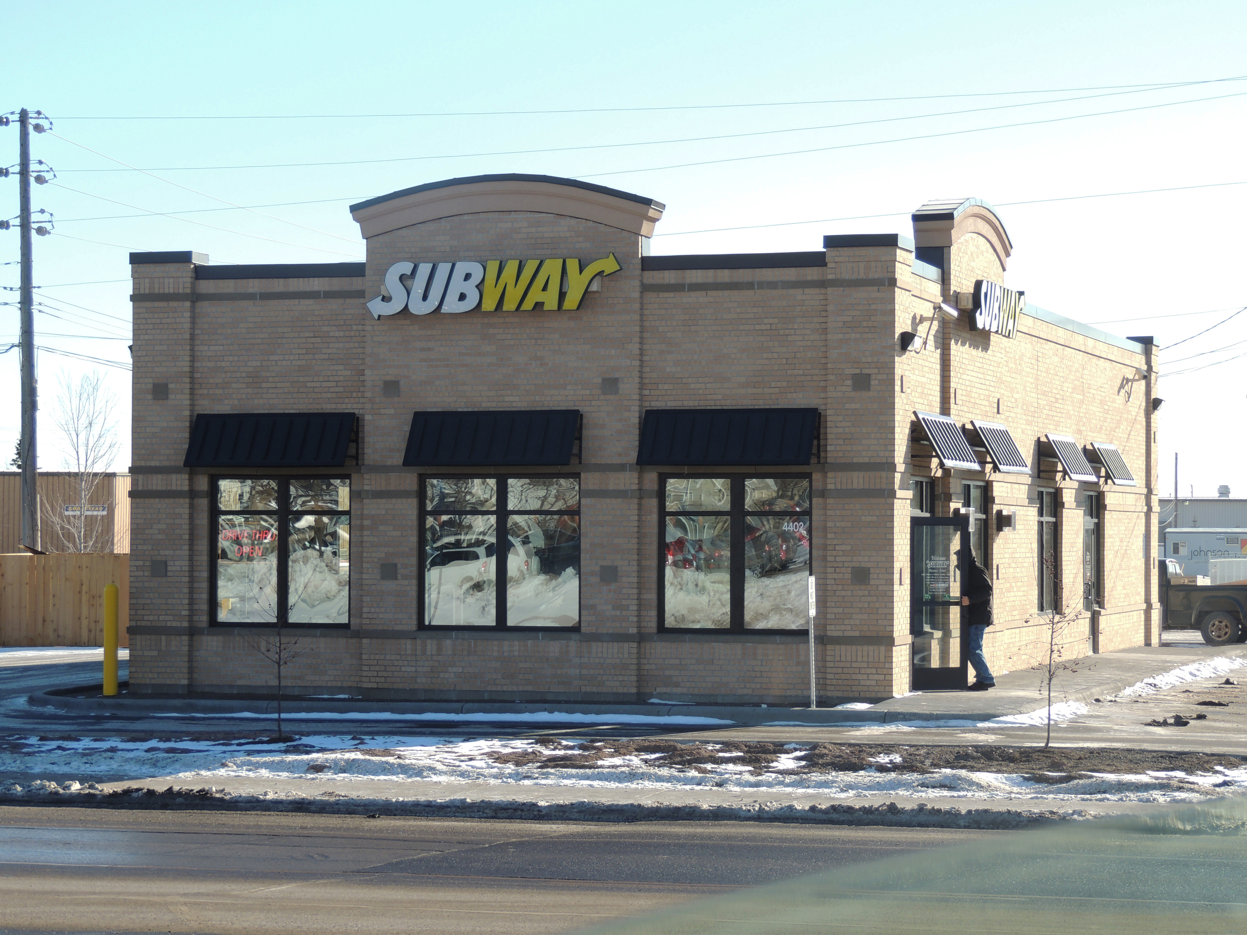 Subway's new location at 4402 Grand Avenue in Duluth.