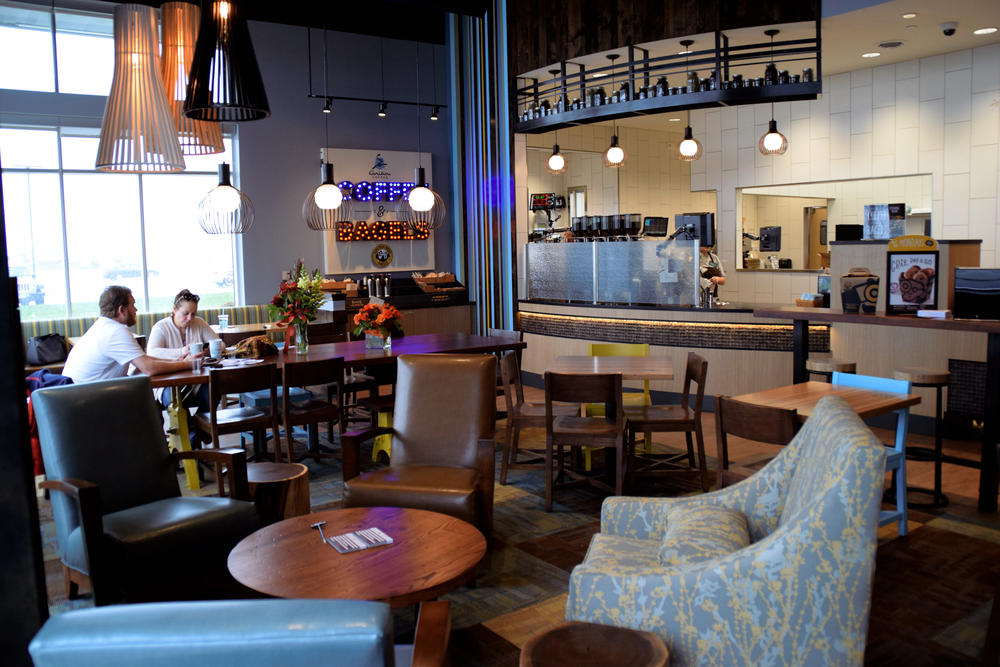 A Caribou Coffee and Einstein Brothers Bageks location in Woodbury, Minnesota | Caribou Coffee