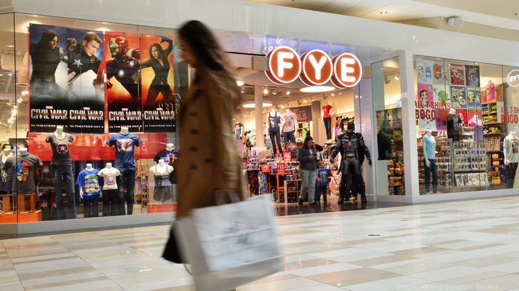 A newly opened F.Y.E. location at Crossgates Mall  |  F.Y.E.