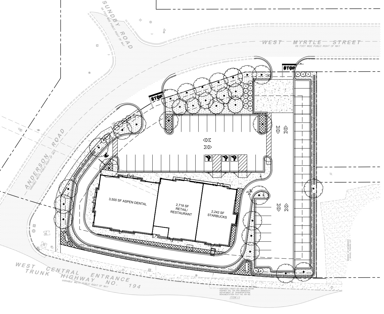 Site Plan for planned commercial development  |  City of Duluth Planning Commission