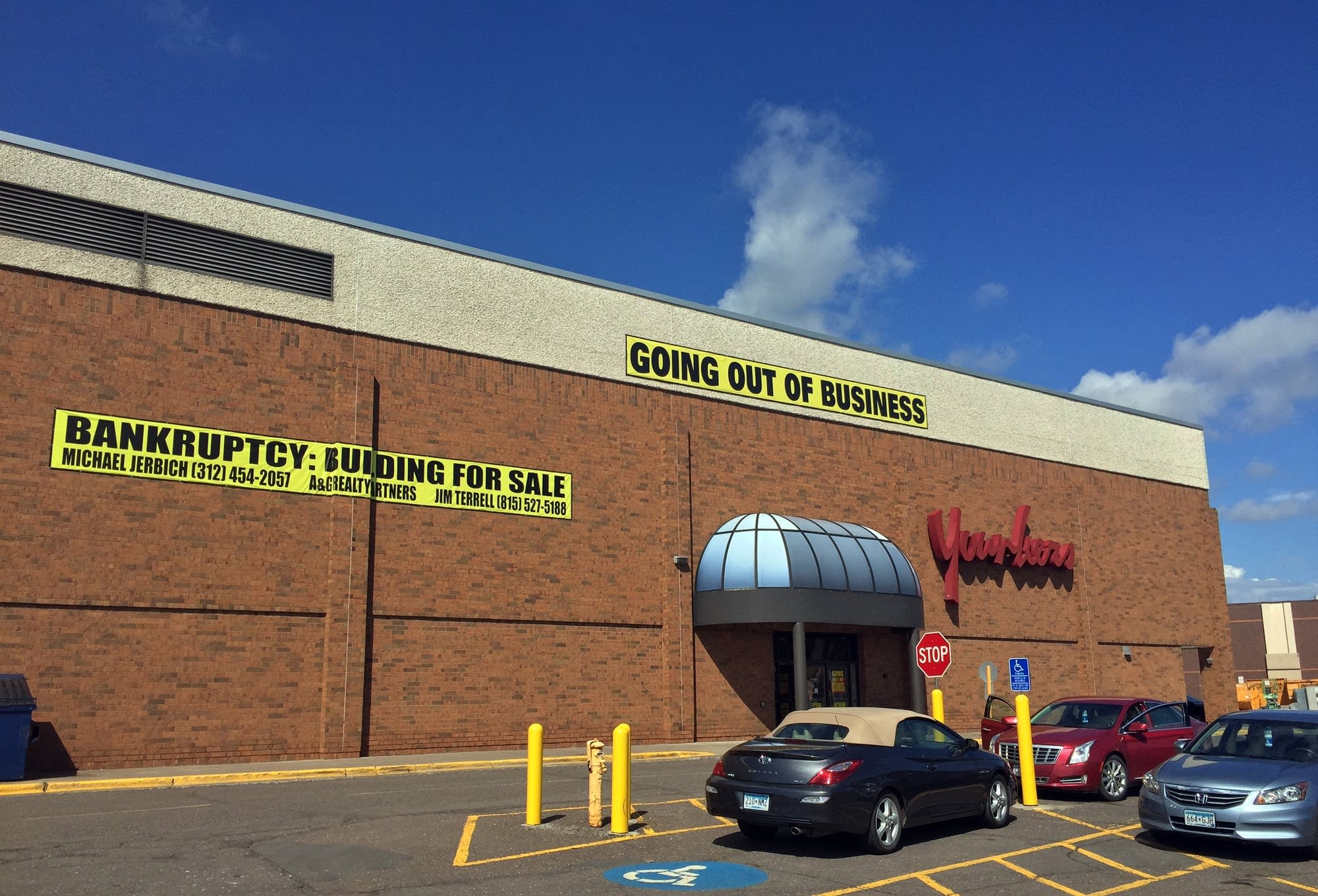 Younker's during it's closing sale in 2018 (MPR News)