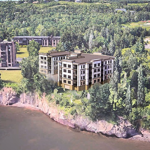 Co-op living on the shores of Lake Superior. Sounds pretty nice, right?  That's exactly what Zvago Cooperative living is bring to Duluth with Zvago Lake Superior, a new senior co-op community that is planned for 3900 London Road. The four-story building will be home to 51 units that will be available for purchase. Units will include one bedroom + den and two bedrooms + den layouts that will range in size from 1001 to 1560 square feet.  The community will feature a grand lobby and fireside lounge, clubroom and hospitality bar, fitness and yoga studio, game room, guest suites, underground parking and more.  Living in a housing cooperative means you're living in a building that is owned and governed by the residents that live there. At Zvago residents will be able to choose from several equity options that will determine their monthly payment and also what they receive if they chose to sell. What is great is that residents are not responsible for securing their own financing with this type of community.  Due overwhelming demand, Zvago Lake Superior will decide who gets a unit by a random lottery system. Construction is anticipated to be complete and the building ready for move-in in Spring 2020. - - - - - #zvago #zvagolakesuperior #seniorcoop #coop #seniorliving #residential #realestate #duluth #mn #minnesota #tdtduluth #thedevelopmenttracker