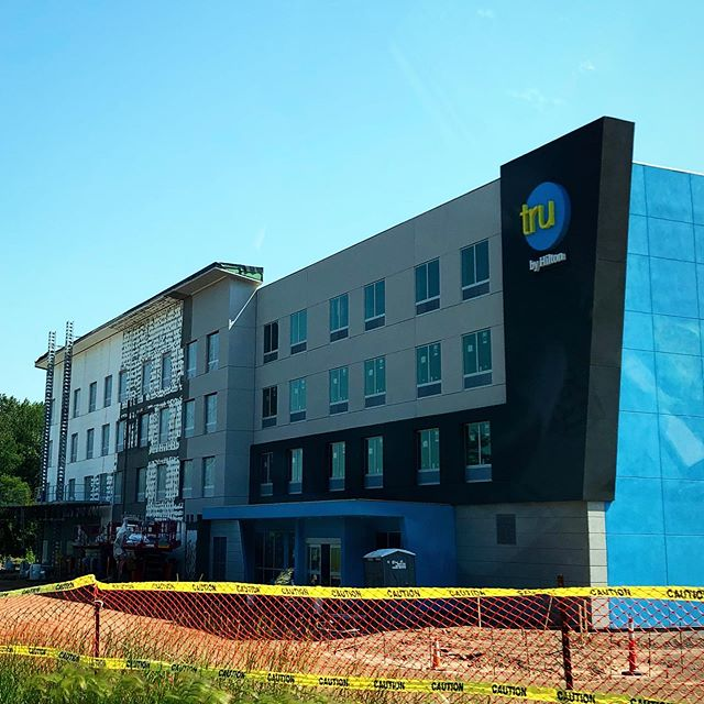 Duluth's newest hotel is almost ready to officially welcome its first guests. 🎉 🎊 🎉  Tru by Hilton isn't just another hotel to add to the already extensive hotel list in Duluth. They're different than other hotels and they're after an entirely different guest. The Millennial.  Visit our website (link in bio) to learn more about Minnesota's first Tru by Hilton and to find out when they officially open. - - - - - #trubyhilton #trubyhiltonduluth #truduluth #hilton #newhotel #hotel #hospitality #commercial #newdevelopment #newbuildings #construction #buildings #architecture #design #development #realestate #twinportsrealestate #twinports #duluthmn #duluth #mn #minnesota #tdtduluth #thedevelopmenttracker
