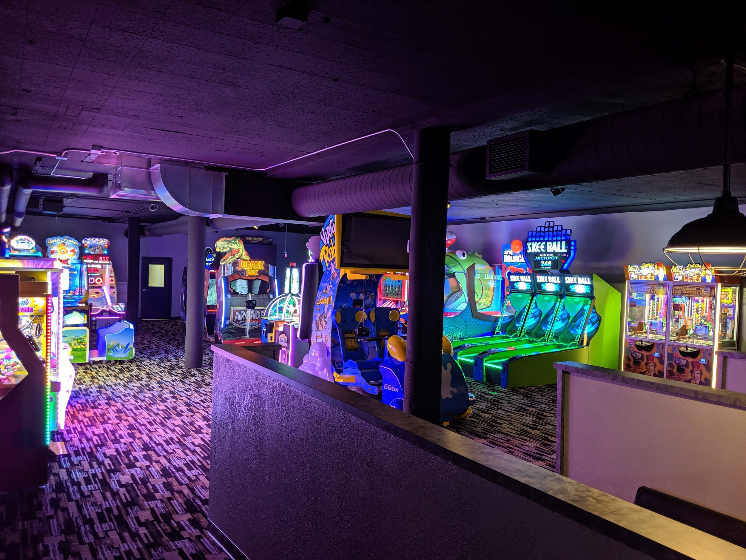Arcade Area |  Skyline Social & Games