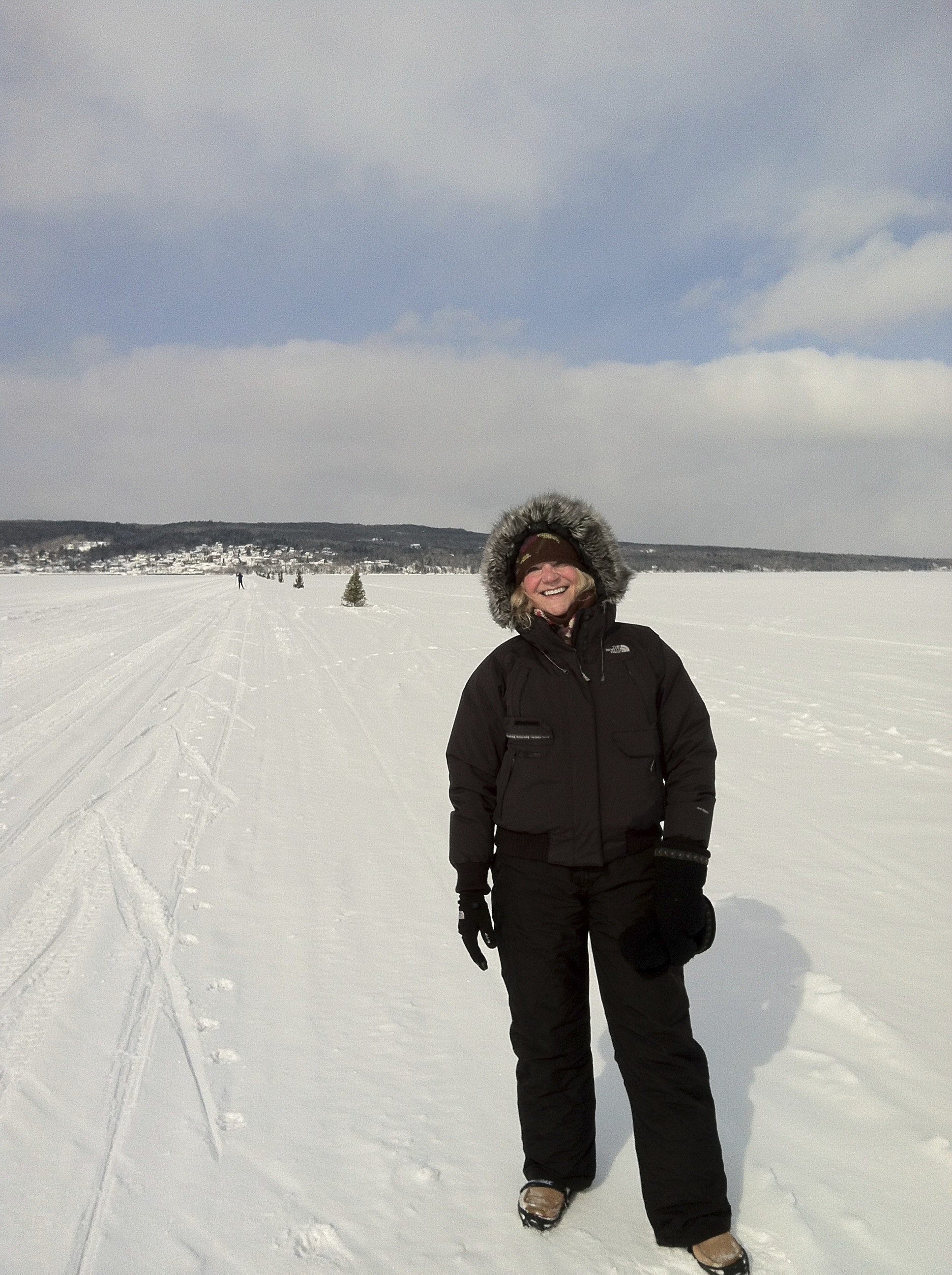 On the Ice Road between Madeline Island and Bayfield.