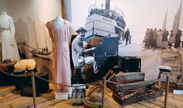 Madeline Island Museum Exhibit
