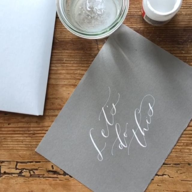 Here's to heading into 2019 with lots of goals, inspiration and anticipation!  If you're thinking of wanting to learn modern calligraphy this year, I have several workshops coming up and I would love to meet you!! Dates for Jan/Feb are... • 1/22 Long Beach, CA (WeWork Members only) • 1/26 Los Angeles, CA • 2/10 Santa Ana, CA • 2/23 Corona, CA  Register via my profile link!