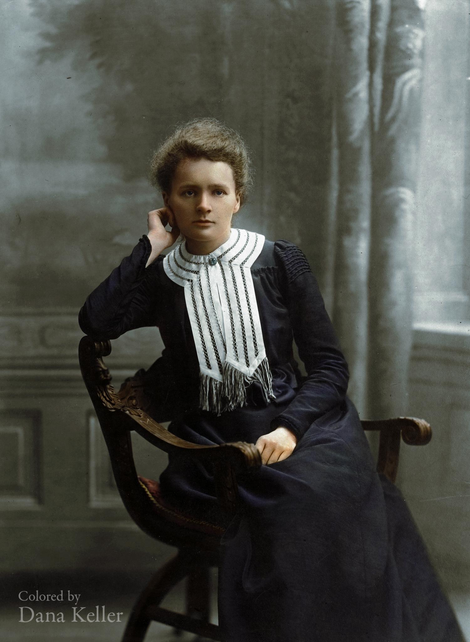 Marie Curie, ca. 1905