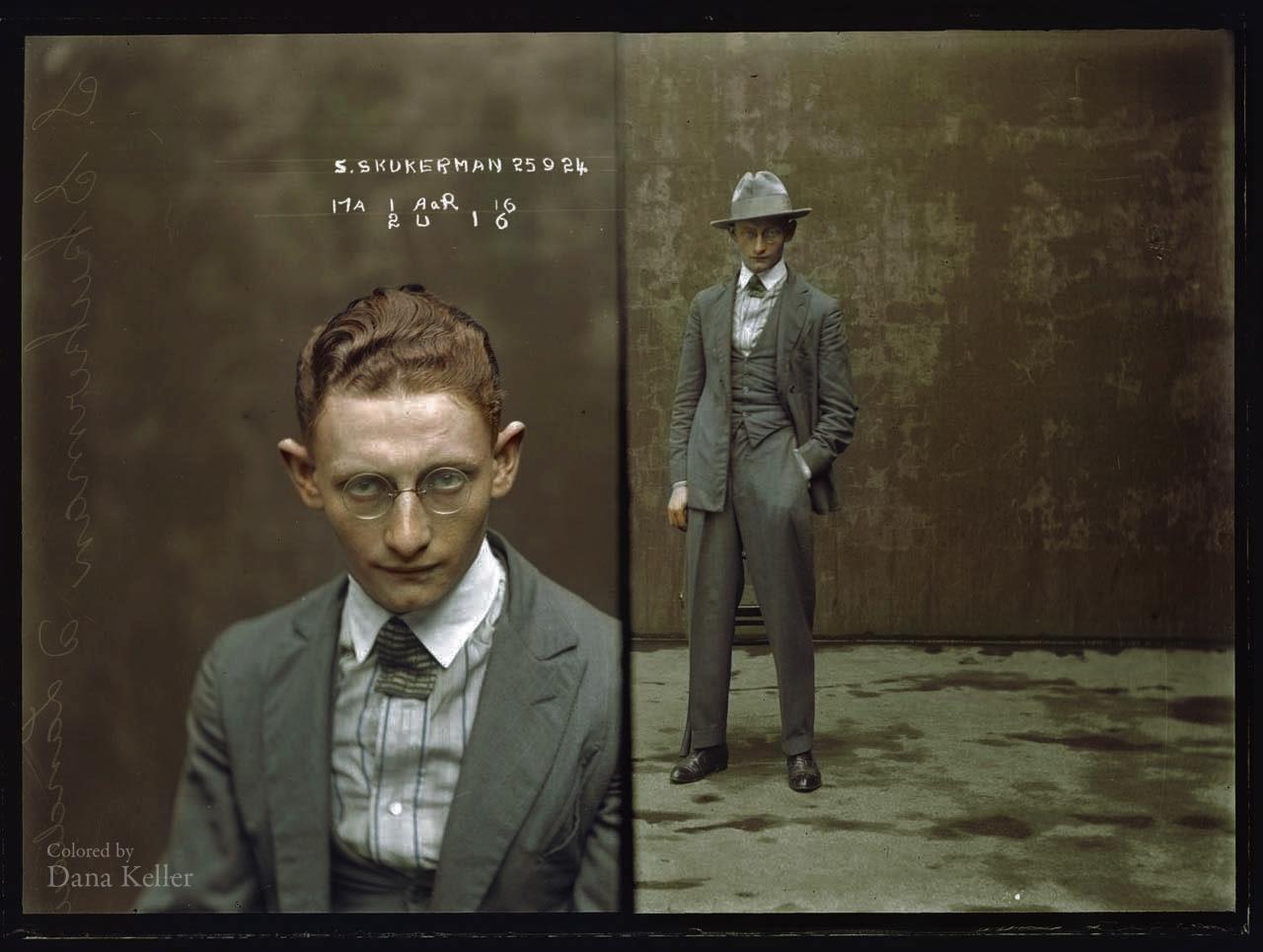 Sydney Skukerman - September 1924