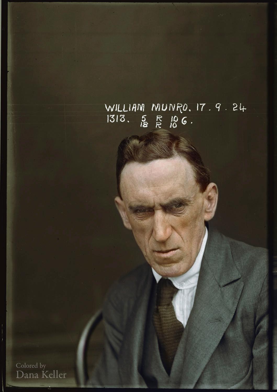 William Munro - September 1924