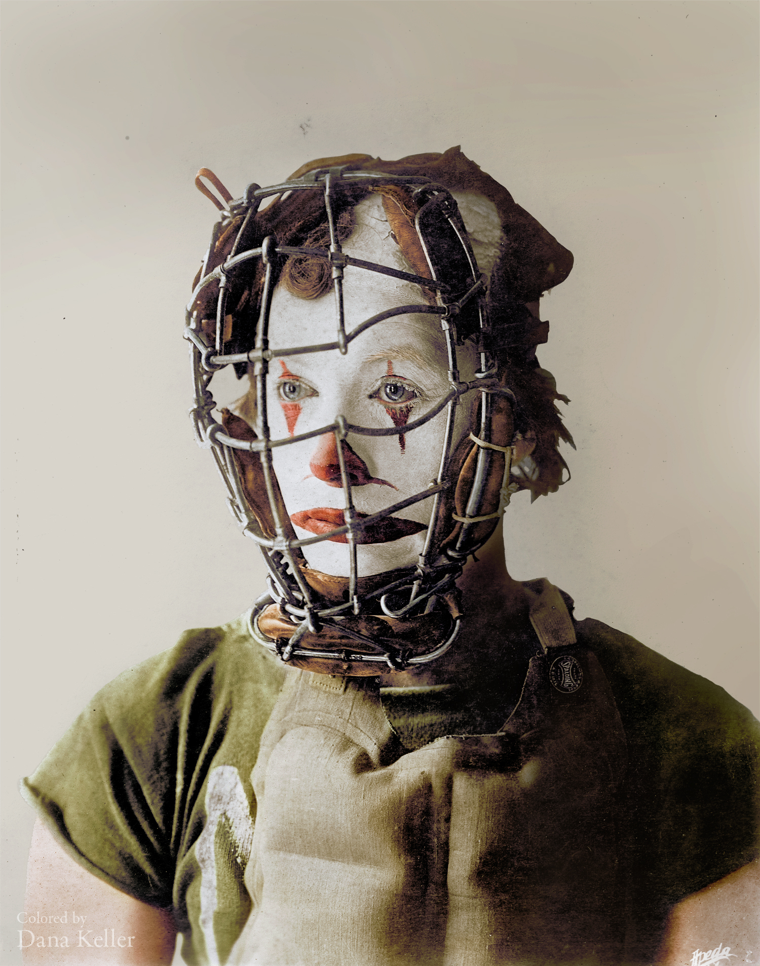 Slivers, the Baseball Clown, ca. 1904