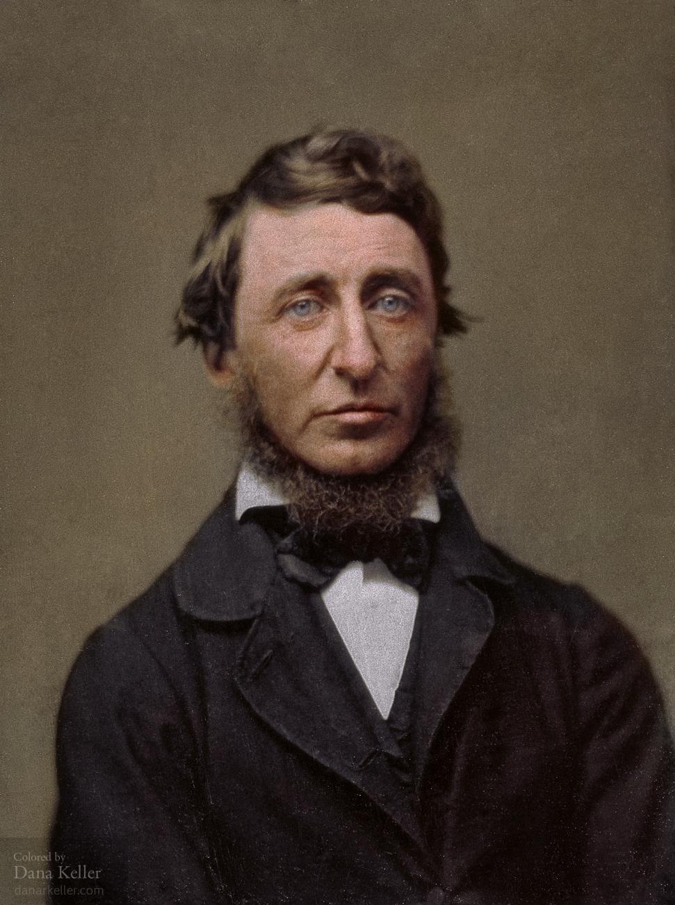 Henry David Thoreau, 1856