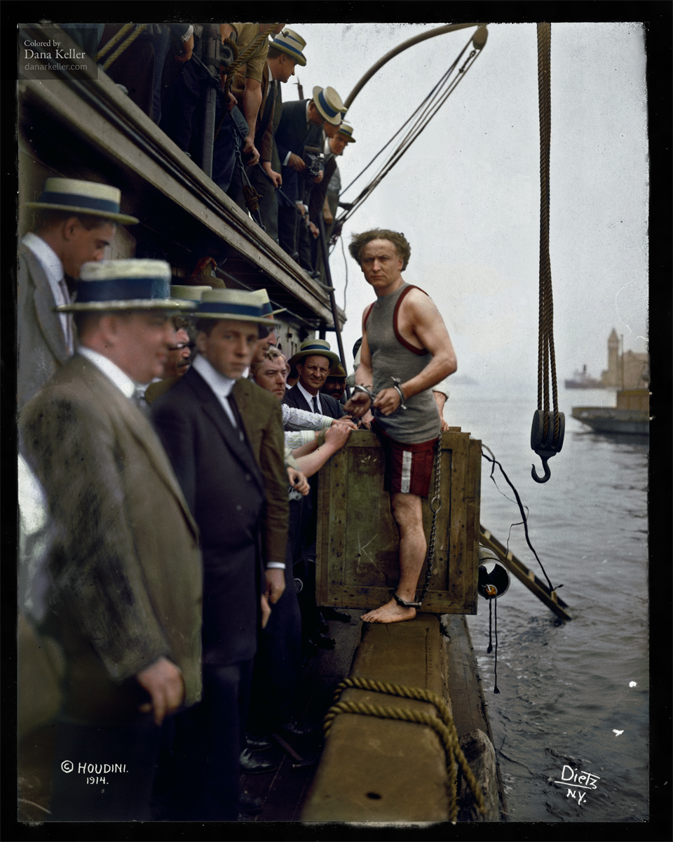 Harry Houdini, 1912