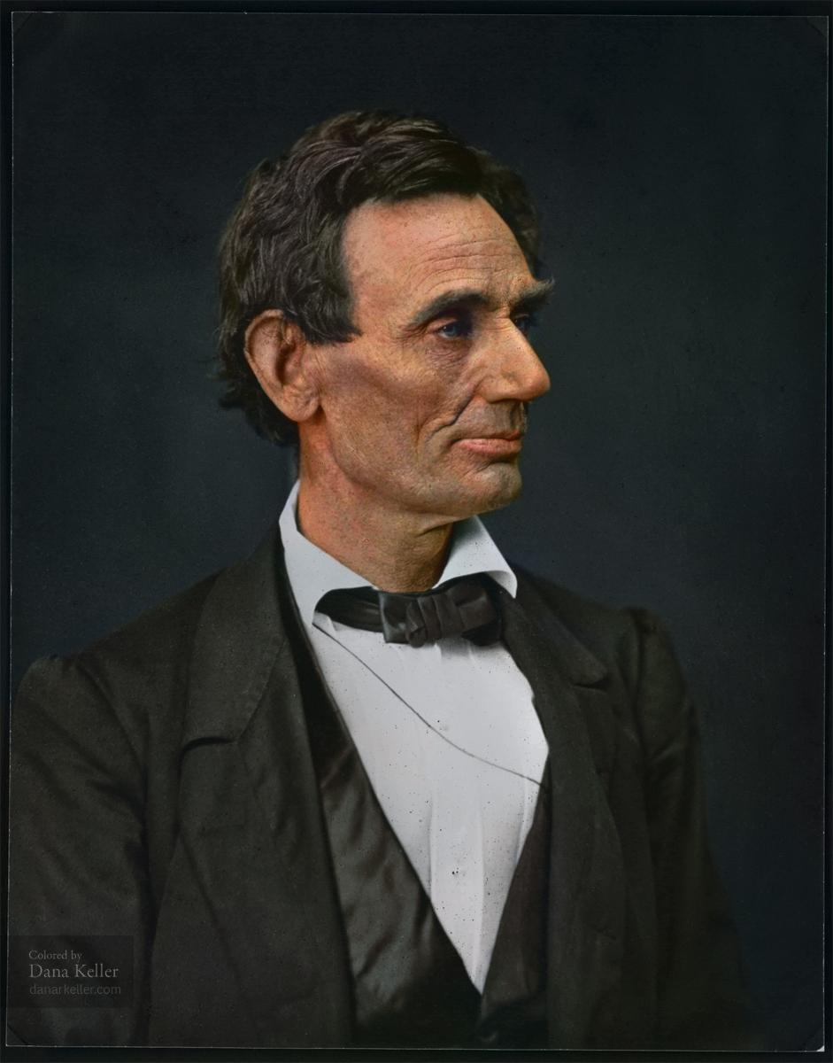 Abraham Lincoln, 1860