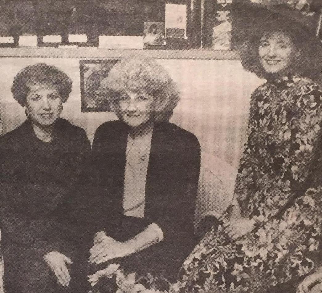 Libby, Sue, and Pam.